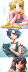 Sailor Five! by Kotikomori