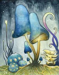 Mushrooms by LarsVsraL