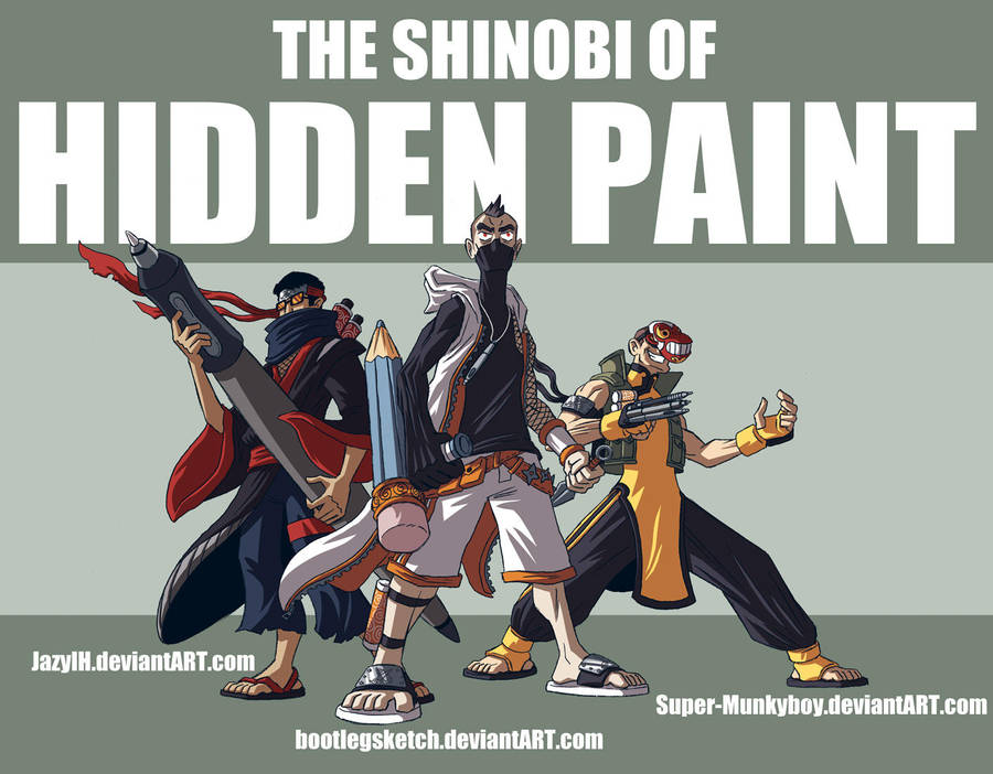 Shinobi Three by jasonhohoho