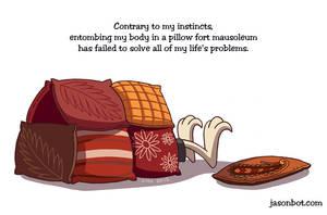 Pillow Fortitude by jasonhohoho