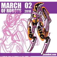 March of Robots 2018 02 by jasonhohoho