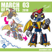 March of Robots 2018 03 by jasonhohoho