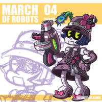 March of Robots 2018 04 by jasonhohoho