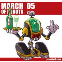March of Robots 2018 05 by jasonhohoho