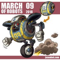 March of Robots 2018 09 by jasonhohoho