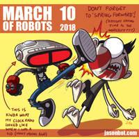 March of Robots 2018 10 by jasonhohoho