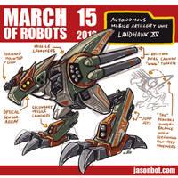 March of Robots 2018 15 by jasonhohoho