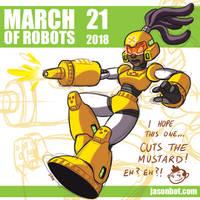March of Robots 2018 21 by jasonhohoho