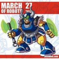 March of Robots 2018 27 by jasonhohoho