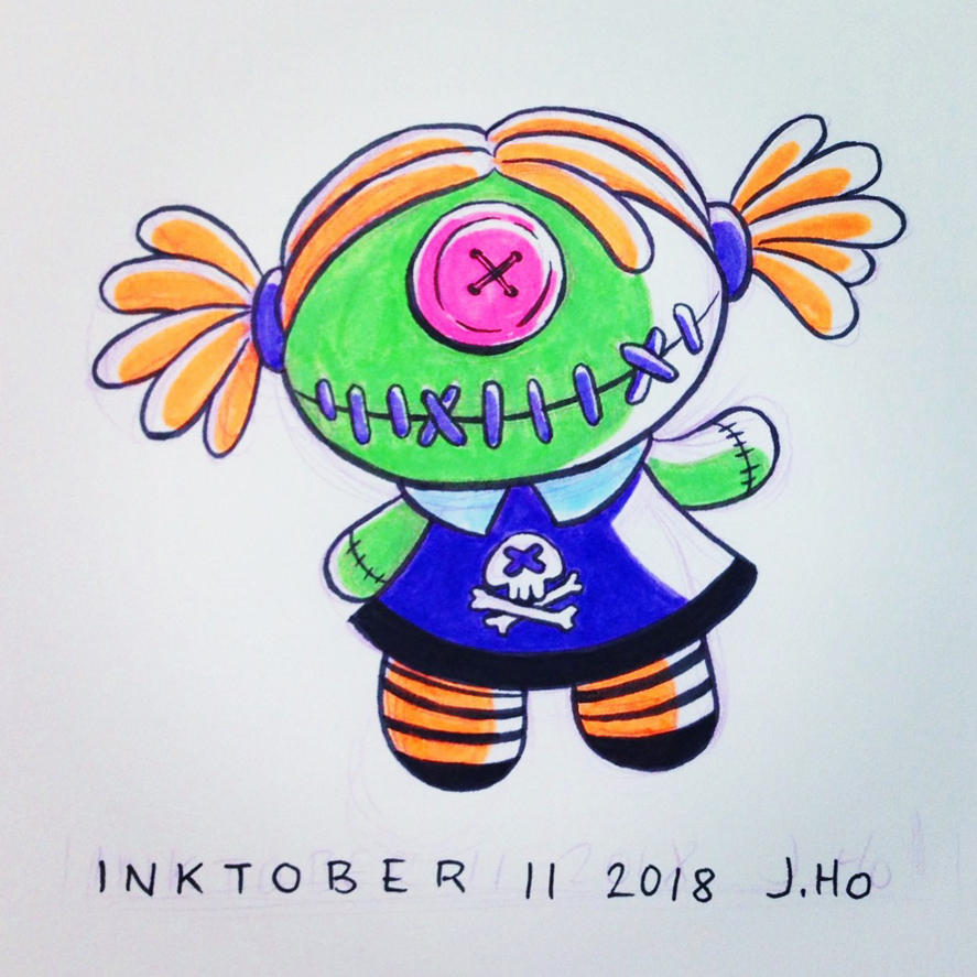 Inktober 11 2018 by jasonhohoho