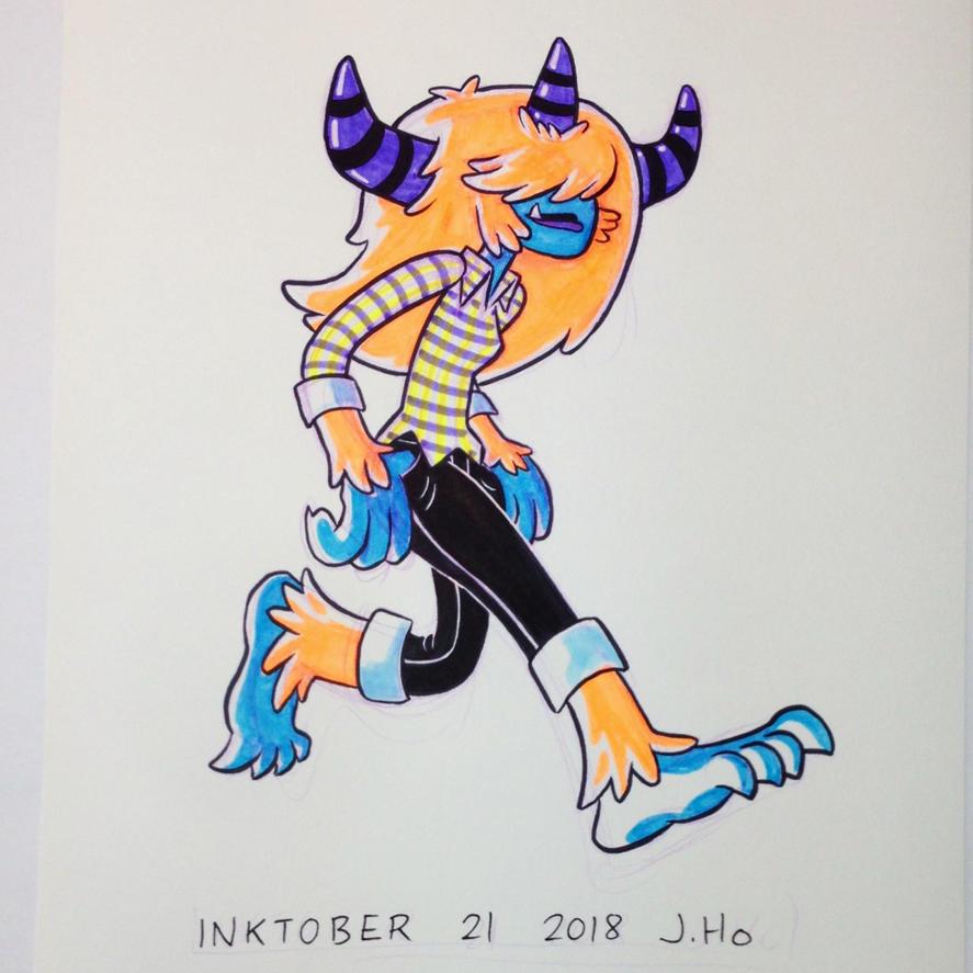 Inktober 21 2018 by jasonhohoho