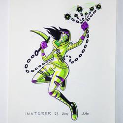 Inktober 23 2018 by jasonhohoho