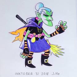 Inktober 31 2018 by jasonhohoho