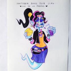 Inktober BONUS 2018 by jasonhohoho