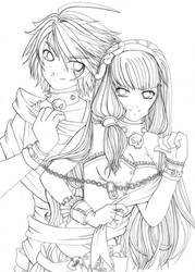::Lineart :: MINE by shiorimaster