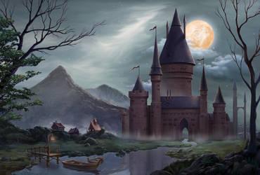 Castle by artforgame