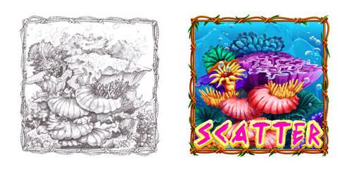 Scatter symbol by artforgame