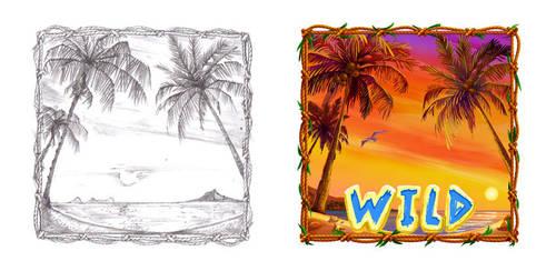 Wild symbol by artforgame
