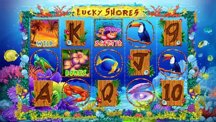 Slot machine - Lucky shores by artforgame