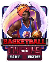 Slot machine - Basketball by artforgame