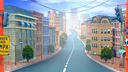Main street by artforgame