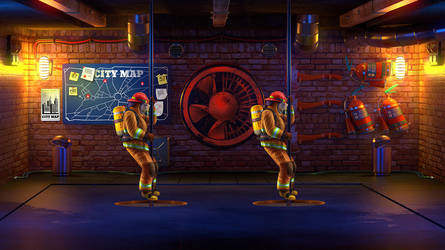 Fire department by artforgame