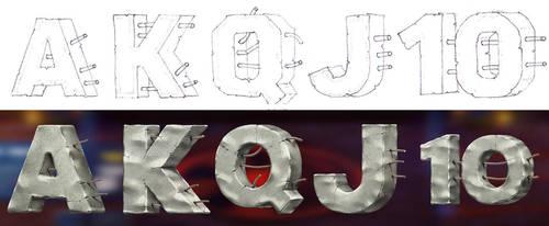 Slot letters by artforgame