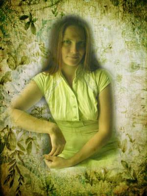 Dana in green by Lirulin-yirth