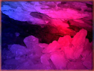 Colourful cave I by Lirulin-yirth
