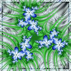 Flowers on the rocks by Lirulin-yirth