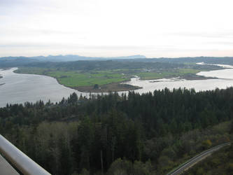 The view from Astoria Column by wazzdakka