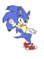 Sonic Movie 2019 by sarahlouiseghost
