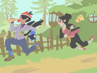 Stop! Thief! by HikariAlien