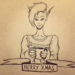 Christmas is weird by Gingeralert2