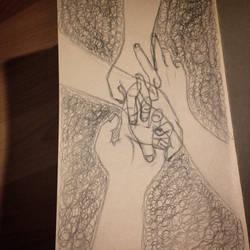.: Hands :. by Gingeralert2