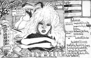 Cassandra's Character Sheet by JeremeyPrickles