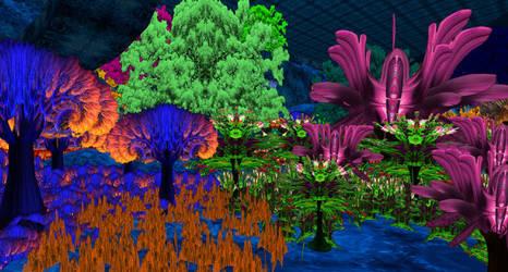 Garden4 by JeremeyPrickles