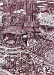 the OakTree Inn by JeremeyPrickles