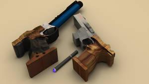Benelli mp95e, kite and cigar by NightmareGK13