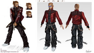 Curtis Becks Model Sheet by NightmareGK13