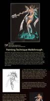 Painting Process Walkthrough by NightmareGK13