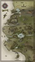 Kingdom of Amaldan Map by NightmareGK13