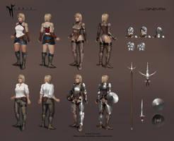 Ginevra Character Sheet by NightmareGK13