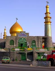 Mosque near Tehran, Iran by bittersweetagain