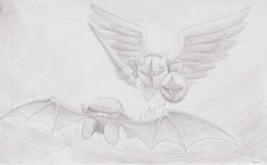 vs Galacta Knight by Sirometa