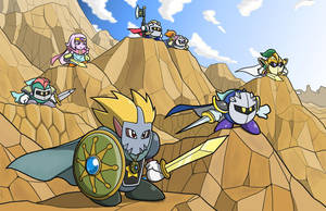 Request_Metaknight and Knuckle Joe's Father by Sirometa