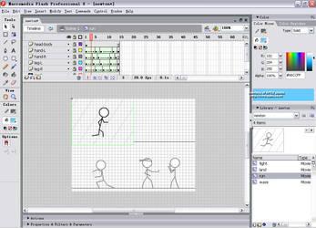 Screenshot of Stick Figure by apexflash