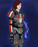 Shepard by DarthPlanet97