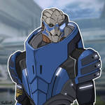 Garrus Vakarian by DarthPlanet97