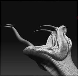 Snake head by jinutan